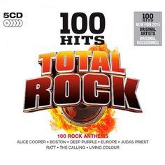 Baixar 100 Hits: Total Rock (5CDS) 2015 - Baixeveloz
