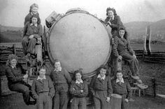 Helferinnen Hagen-Haspe Nov. 1944 Luftwaffe, Ww2 Women, Military Women, German Girls, German Women, The Third Reich, Helfer, World War Two, Wwii