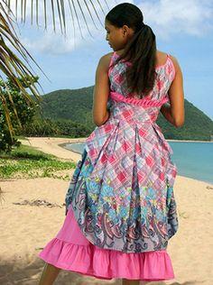 Jamaican Cultural Dresses Tropical Pinterest Dresses