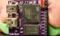 Conventional wisdom says small, powerful embedded Linux like the Raspberry Pi, Beaglebone, or the Intel Edison are inherently manufactured devices, and certainly not something the homebrew tinkerer… Diy Electronics, Electronics Projects, Electronics Components, Intel Edison, Embedded Linux, Raspberry Pi Projects, Cool Tech Gadgets, Computer Technology, Computer Hacking