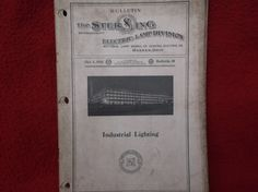 Sale....Bulletin 20 The Sterling Electric Lamp Division Industrial Lighting