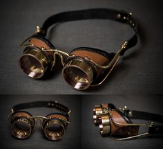 Eldridge steampunk goggles by LahmatTea brass copper equipment gear magic item | Create your own roleplaying game material w/ RPG Bard: www.rpgbard.com | Writing inspiration for Dungeons and Dragons DND D&D Pathfinder PFRPG Warhammer 40k Star Wars Shadowrun Call of Cthulhu Lord of the Rings LoTR + d20 fantasy science fiction scifi horror design | Not Trusty Sword art: click artwork for source