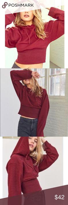Silence Noise Lana Corset Hoodie Like new size small silence + noise Tops Sweatshirts & Hoodies