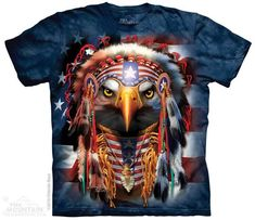 NATIVE PATRIOT EAGLE T-SHIRT BY THE MOUNTAIN®