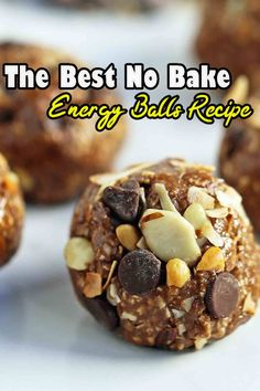 A definitive simple no heat energy balls. Made with only 6 fixings and make the ideal solid breakfast or bite! You can't turn out badly with this straightforward most loved recipe Yummy Chicken Recipes, Potato Recipes, Crockpot Recipes, Ramen Noodle, Noodle Salad, Oatmeal Energy Bites, Yummy Drinks, Yummy Food, Curry Ramen