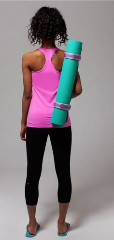 made with sweat-wicking, oh-so-soft Luon Light.   Keep Ur Cool Racer*Luon Light
