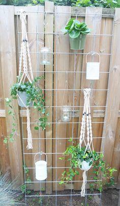 Verticaal tuinieren: een tuinrek van betongaas - KARWEI Inspiratie