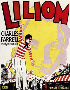 """""""Liliom"""" film poster - 1930, directed by Frank Borzage, starring Charles Farrell, Rose Hobart, Estelle Taylor - watched July 31, 2012"""