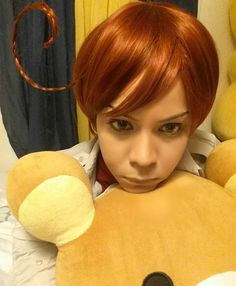 Buona notte . . .  #aphromano #aph #hetalia #cosplay #hetaliacosplayer #anime #animecosplay #aphsouthitaly #aphsouthitalycosplay #lovinovargas #crossplay #cosplayer #cosplay #aphromanocosplay #hetaliacosplay #rilakkuma #cosplaygirl #aphitaly