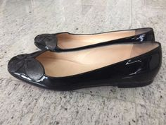 Christian Louboutin Dress Black Patent Flats | eBay