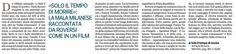 """""""La mala milanese raccontata come un film"""" Gazzetta di Parma  #Soloiltempodimorire Marsilio editore"""