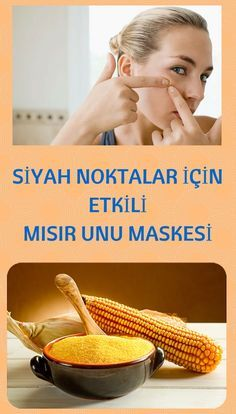 Effective Corn Flour Mask for Blackheads- Siyah Noktalar İçin Etkili Mısır Unu Maskesi Those who want to get rid of the black dots will absolutely love this mask ! Relaxed Hair, Natural Hair Conditioner, Dark Curly Hair, Hair Care Oil, Blackhead Mask, Hair Protein, Bright Hair, Prevent Hair Loss, Natural Hair Growth