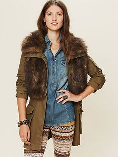 after seeing this, I will be putting my faux fur vest over my parka.