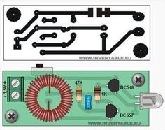 043 - Encender un led blanco con Electronics Projects, Hobby Electronics, Consumer Electronics, Electronics Components, Electronic Kits, Electronic Circuit Projects, Electronic Schematics, Robotics Projects, Led Projects