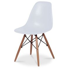 Modern Eiffel Chair in White – Next Day Delivery Modern Eiffel Chair in White from WorldStores: Everything For The Home