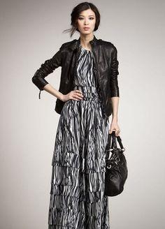 @#@#@ RACHEL ZOE ELISE tiered MAXI halter SILK DRESS 2 nwt $795 PROM @#@#@