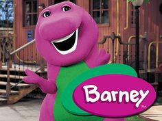 Ha I was a Barney for Halloween 2 years in a row when I was little!! How the times have changed!
