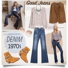 Good flare jeans by bogira on Polyvore featuring MANGO, denim and goodjeans