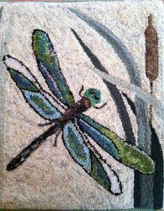 PR1384: Dragonflies, Hooked by Ellen Gould