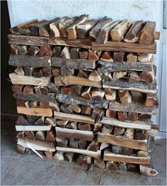 The Art of Stacking Wood