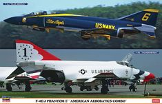 f-4 phantom ii special paint | 4E/J Phantom II American Aerobatics Combo…