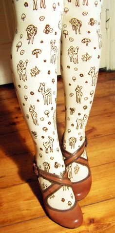 tights! I don't think I would ever wear these but @Anne Weil would.