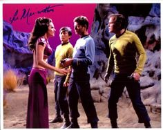 Lee Meriwether (Miss America 1955), signed Star Trek photo