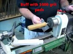 Learn how to apply General Finishes Wood Turners Finish on the Lathe