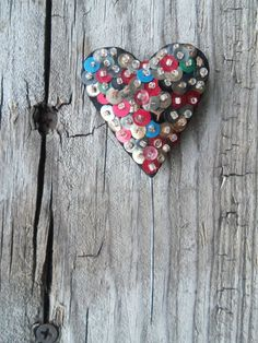 Sweet Vintage Handmade Velvet and Sequin Heart by bettyrayvintage, $15.00