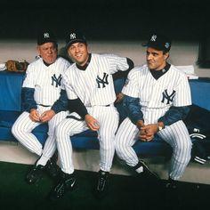 Don Zimmer, Derek Jeter and Joe Torre  Yankee legends.