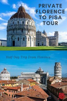 LivItaly's Private Florence to Pisa Tour is ideal for travelers staying in Florence and curious to visit the famous Tuscan city of Pisa. This Half Day Trip from Florence is a great way to see the charming city of Pisa, leaving plenty of time to spare to enjoy the rest of the day. #iliveitaly #travel #Italy