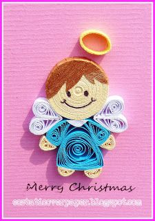 *QUILLING ~ ecstatic over paper: Angels