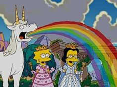 Imagem de unicorn, simpsons, and rainbow mundo de energia com Lisa e Débora nas terras de unicórnio de Assis de 1966 1026 CABELO Cartoon Icons, Cartoon Characters, Lisa Simpson, Cartoon Profile Pictures, Futurama, Dope Art, Cartoon Wallpaper, Reaction Pictures, The Simpsons