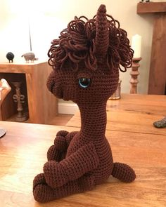 *THIS IS FOR THE PATTERN ONLY-NOT THE ACTUAL TOY* Instant pdf download This is an intermediate pattern using the loop stitch in parts, knowledge of this stitch is required. However, you can replace the loop stitch with single crochet and attach the hair afterwards Over 50 photos to