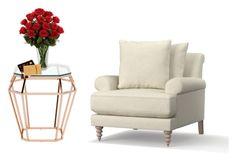 """Happy Valentine's day"" by tcolasante on Polyvore featuring interior, interiors, interior design, home, home decor, interior decorating, Nuevo and Pottery Barn"