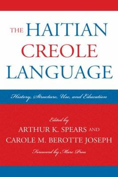 Haitian Creole is a French-based creole and is one of Haiti's two official languages, along with French. Haitian Creole is spoken by roughly ten to twelve million people. It is the first language of 90–95% of Haitians. It is a creole based largely on 18th-century French with some influences from Portuguese, Spanish, Taíno, and West African languages.