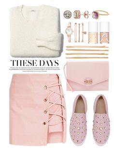 """It's time to let it go, go out and start again."" by annaclaraalvez on Polyvore featuring Madewell, Ted Baker, Cara, Anne Klein, Uslu Airlines, Diamond Splendor and Mistraya"