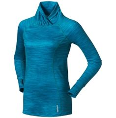 Reebok Women's Coldweather Compression Printed Novelty Long Sleeve Tee - Dick's Sporting Goods - $29.98