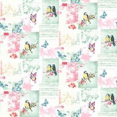 Songbird  - Multi : Wallpaper and wallcoverings from Holden Decor Ltd.
