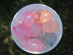 Don't Let Your Water Break - Play this game at an outdoor baby shower. Give each guest a filled water balloon to hold between their knees at the beginning or somewhere near the beginning of the shower. Let the guests mingle, eat, and do whatever they would normally be doing at that baby shower. It adds a layer of silly and awkward to normal social interactions. Last person with an unpopped balloon wins!