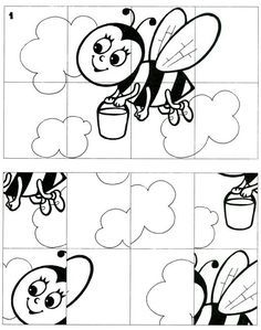 Parça bütün Print the puzzle, have your kids color it, cut it out, and have your kids put it back together! Kindergarten Worksheets, Preschool Activities, Coloring For Kids, Coloring Pages, Pre School, Kids And Parenting, Kids Learning, Art For Kids, Homeschool