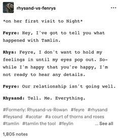 A Court Of Wings And Ruin, A Court Of Mist And Fury, Acotar Funny, Feyre And Rhysand, Sarah J Maas Books, Favorite Book Quotes, All The Bright Places, Throne Of Glass, Book Memes