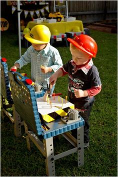 Games for Construction Themed Boys Birthday Party