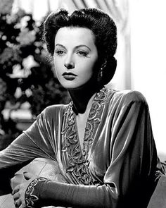 ""\Hedy Lamarr \Publicity photo,1942 \Glamour, a dated word today, was a Hollywood invention. It was the aura diffused by every famous film goddes, by Greta Garbo, Marlene Dietrich, Hedy Lamarr or Myrna Loy; it was the setting of the spectacular mobies of Paramount and Metro-Goldwyn-Meyer. Glamour implies not only beauty but wealth."""" ~ Anne Scott-James, Picture Post journalist and fashion writer, 1913-2009""236|295|?|en|2|1956b54ea7d82ee1a07238a78adf71c6|False|UNLIKELY|0.30842325091362