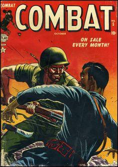 Combat #5, cover art by Russ Heath