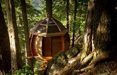 Treehouse, read more: www.backyardliving.nl