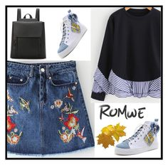 """""""ROMWE 3/10"""" by samed-85 ❤ liked on Polyvore"""