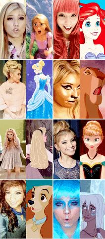 Proof Kirstie is a Disney princess