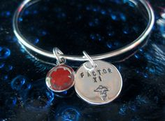 Handcrafted Med Alert Jewelry Sterling Silver by tinyshinyones, $68.00