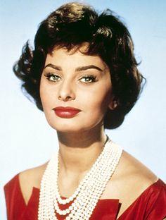 Sophia Loren. Everett Collection.